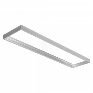 Led paneel 30x120 opbouw frame aluminium