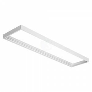 Led paneel 30x150 opbouw frame kleur wit