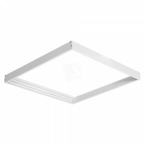 Led paneel 120x120 opbouw frame kleur wit
