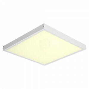 LED opbouw 60x60, 3000 kelvin met wit opbouw frame