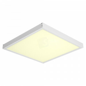 LED opbouw 60x60, 3000 kelvin met wit opbouw frame, 120 lm/watt