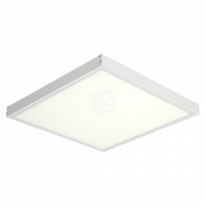 LED opbouw 60x60, 4000 kelvin met wit opbouw frame, 120 lm/watt