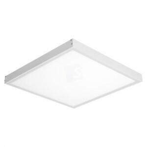 LED opbouw 60x60, 6000 kelvin met wit opbouw frame