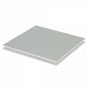 Gipsvinyl plafondplaten 600x600 inleg kleur intens grijs