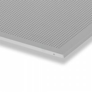 Rooster plafondplaat 600x600 mm grijs