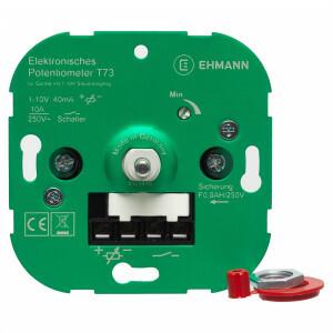 Inbouwdimmer 1-10 V, potentiometer
