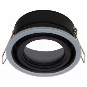 LED spot behuizing spatwaterdicht IP65, GU10, exclusief buitenring