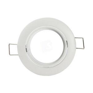 Led spot kantelbaar wit  frame KAAL