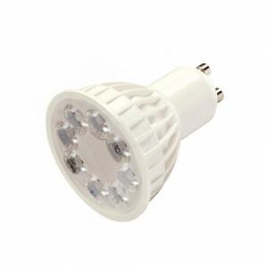 LED spot 4 watt dimbaar RGB en CCT, GU-10, 2.4G RF WIFI