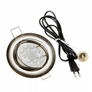 LED spot compleet, RGBW-CCT 4 Watt, Frame chroom