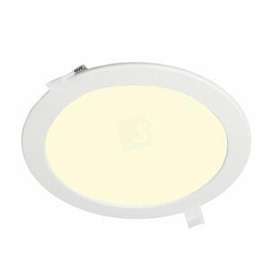 LED downlight dimbaar, rond 240 mm, 3000K, gatmaat 220 mm