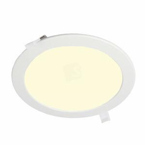 LED downlighter rond 240 mm, 3000K, gatmaat 225 mm