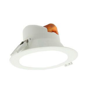 LED downlight 8 watt, IP44, rond 113 mm, 6000K