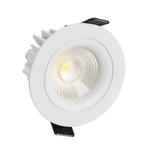 inbouwspot LED rond VL 80 mm wit 2700K, 750lm 8W