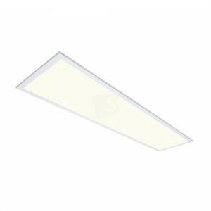 LED paneel 120x30, 4000 kelvin, netsnoer, witte rand