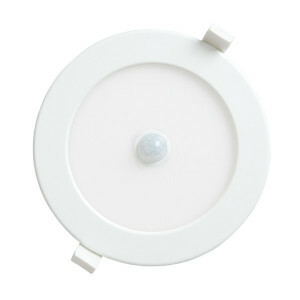 LED downlighter 12 watt, rond 170 mm, 3000K PIR sensor