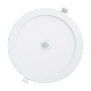 LED downlighter 24 watt, rond 240 mm, 6000K PIR sensor