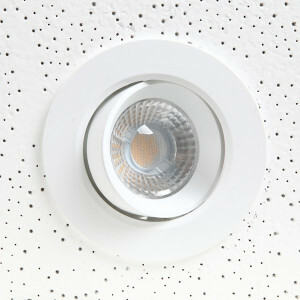LED spot richtbaar 105 mm, 3000k triac dimbaar