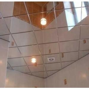 spiegel plafondplaten silver