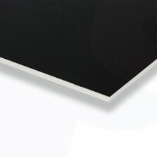 Gipsvinyl plafondplaten 600x1200 inleg kleur zwart
